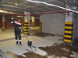 Красим бетон – как выбрать и нанести покрытие
